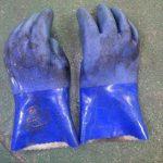 通気性のない手袋をはめて、半日たつとどうなるの?