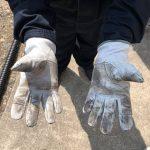 オーダーすると、手袋は永く使えるんです!