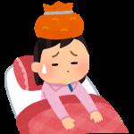 のどの痛みは、風邪のサイン。早めに休みましょう。