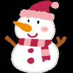 雪だるまを作るときは、水がしみないように炊事手袋を!