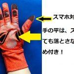 ランニングを始めることに!その時の手袋はやっぱりEGシリーズ